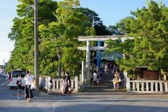 8/1 小名浜諏訪神社で夏祭り