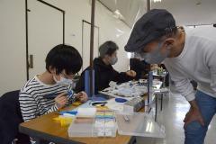 12/12 小名浜、愛好家ら集い模型作成イベント