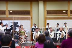 12/20 遠野町、金澤翔子美術館でクリスマスジャズコンサート開かれる