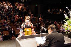 3/24 東日本国際大学・いわき短期大学で卒業式