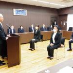東日本国際大学が秋季入学式開く